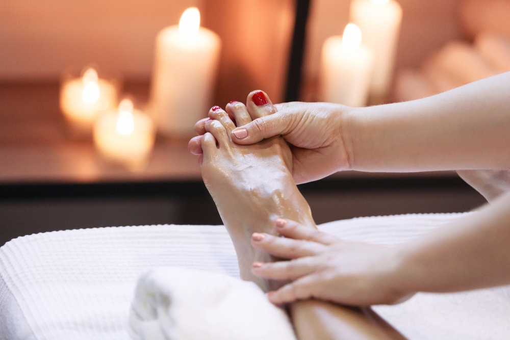 Foot and Ankle Massage