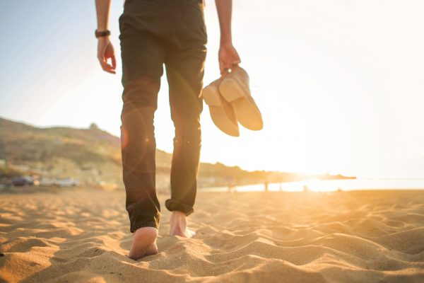 sand-walking